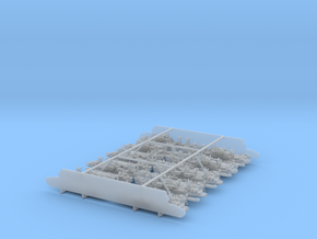 1/3000 US Navy Amphibious Ships & Crafts in Frosted Ultra Detail