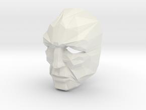 Full Size Jor-El Crystal Mask Superman in White Strong & Flexible