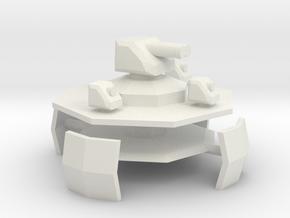 Alpini Air Fort (Gun) 6mm x1 in White Natural Versatile Plastic
