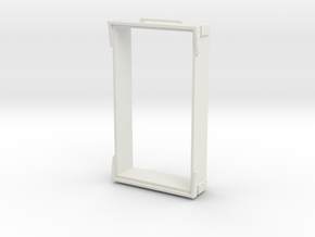 O9 wagon top (long) in White Natural Versatile Plastic