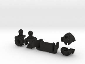 Wrecker Ironfist Kit - No Bullet Hole in Black Acrylic