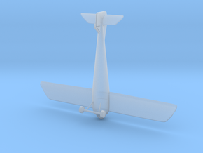 Plane in Smooth Fine Detail Plastic