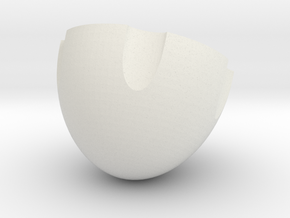 pushpin-detachable in White Natural Versatile Plastic