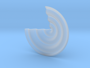 Wave in Smooth Fine Detail Plastic