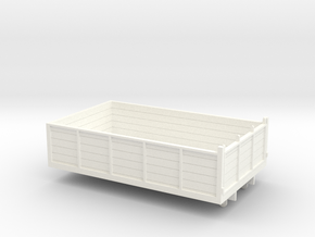 1:43 Atkinson SWB Tipper Body in White Processed Versatile Plastic