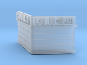 N-Scale Columbia Theater Marquee in Smooth Fine Detail Plastic
