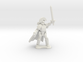 15mm Legionary Captain (x1) in White Strong & Flexible