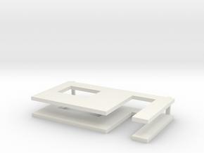 muren beton schaal 1:50 in White Strong & Flexible