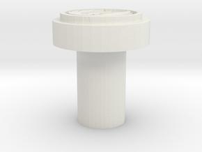 Jedi Logo Killkey  in White Natural Versatile Plastic