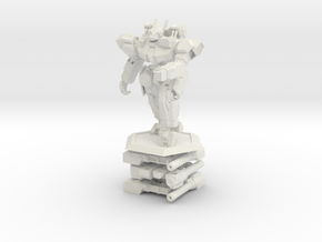 WHAM- King Sandman and Weapons (1/160th) in White Natural Versatile Plastic