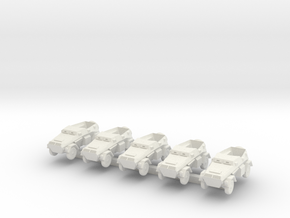 1/300 Sd.Kfz.247 B Armoured Staff Car in White Natural Versatile Plastic