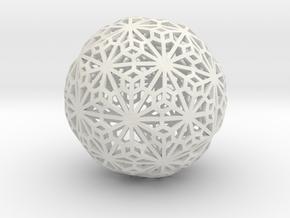 Flexible Sphere_d1 in White Strong & Flexible
