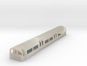 1:87 H0 1973 Tube Stock driver London Underground in White Acrylic
