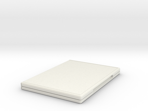 DVD case in White Natural Versatile Plastic