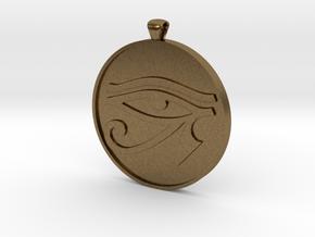 eye of horus in Natural Bronze