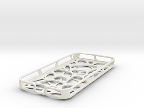 iPhone 5/5S case - Cell 2  in White Natural Versatile Plastic