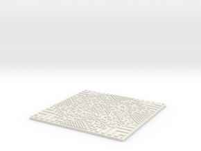 Wolfrule#177 Wall Tile in White Natural Versatile Plastic