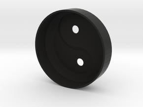 YingYang smoke detector (top) in Black Strong & Flexible