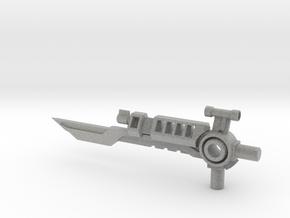 Duelist 5mm Sword/Blaster in Metallic Plastic