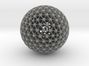 Geo Sphere in Metallic Plastic