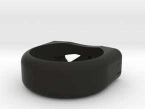 Ninja Turtle Ring in Black Strong & Flexible