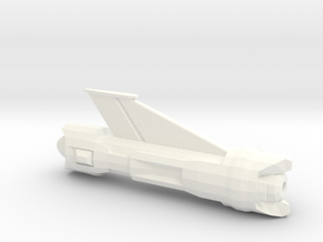 Smaller NV-Nacelle 1 in White Processed Versatile Plastic