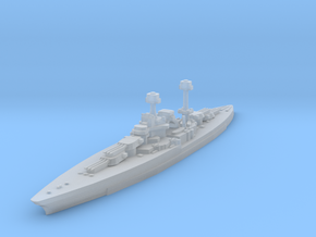 South Dakota Class (BB-49) 1:2400 x1 in Smooth Fine Detail Plastic
