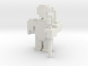 terracotta soldier  in White Natural Versatile Plastic