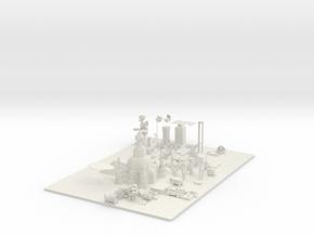 server world  in White Natural Versatile Plastic