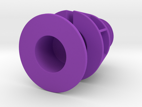 Mouse Cord Holder in Purple Strong & Flexible Polished