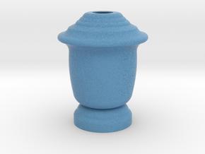 Flower Vase_12 in Full Color Sandstone