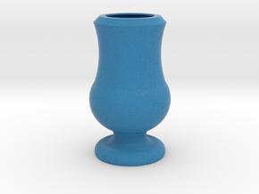 Flower Vase_11 in Full Color Sandstone