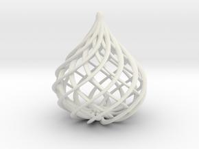 Onion in White Natural Versatile Plastic