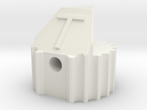 tone knob in White Natural Versatile Plastic