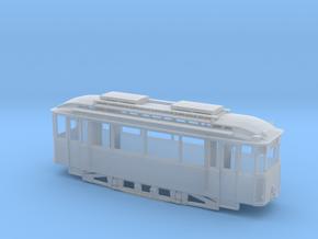 Tram Leipzig Typ 22s Pullmanwagen (1:120 )TT in Smooth Fine Detail Plastic