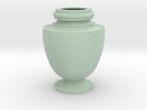Flower Vase_15 in Full Color Sandstone