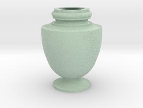 Flower Vase_15 in Full Color Sandstone