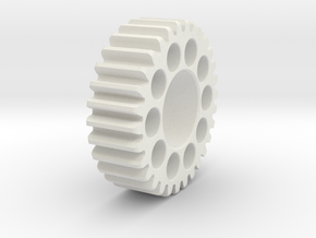 Emco V10 tumber gear in White Natural Versatile Plastic
