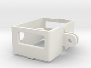 GoPro Frame Mount for HD Hero/HD Hero 2 in White Natural Versatile Plastic