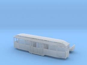 Tram Leipzig Mitteleinstiegs Beiwagen Typ 61 1:160 in Smooth Fine Detail Plastic