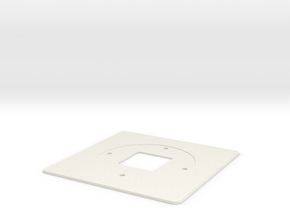 Nest Thermostat Wall Plate in White Natural Versatile Plastic