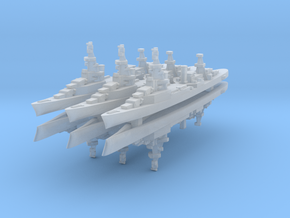 Bywater's Galveston 1:4800 x6 in Smooth Fine Detail Plastic