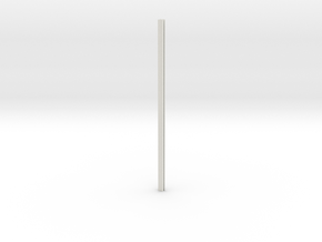 Riveted Column V2.1 in White Natural Versatile Plastic