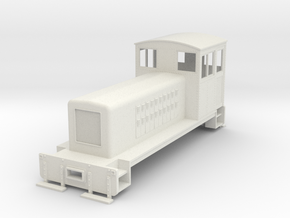 On30 small endcab conversion  in White Natural Versatile Plastic