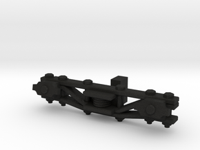 SR&RL HOn30 truck sideframe in Black Acrylic