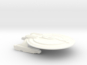 USS Epic (Refit) in White Strong & Flexible Polished