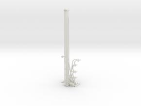 Energy Fence 12 in White Natural Versatile Plastic
