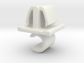 Motorkap stang steun. in White Natural Versatile Plastic