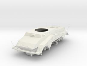German 1:18 Sd.Kfz. 234/2 Puma Chassis in White Natural Versatile Plastic
