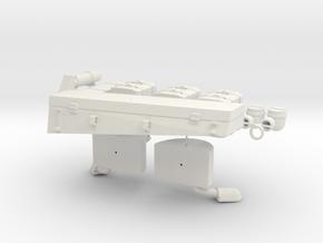 German 1:18 Sd.Kfz. 234/2 Puma Accessories in White Natural Versatile Plastic